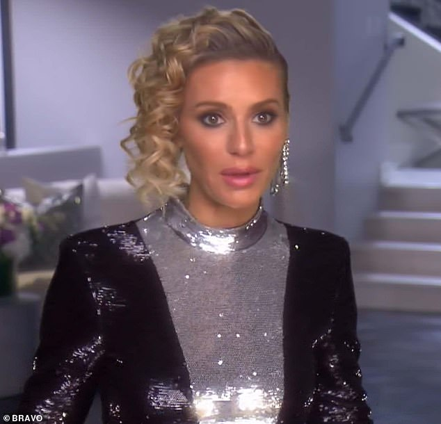 No apology: Dorit admitted that she wasn't expecting an apology from Vanderpump