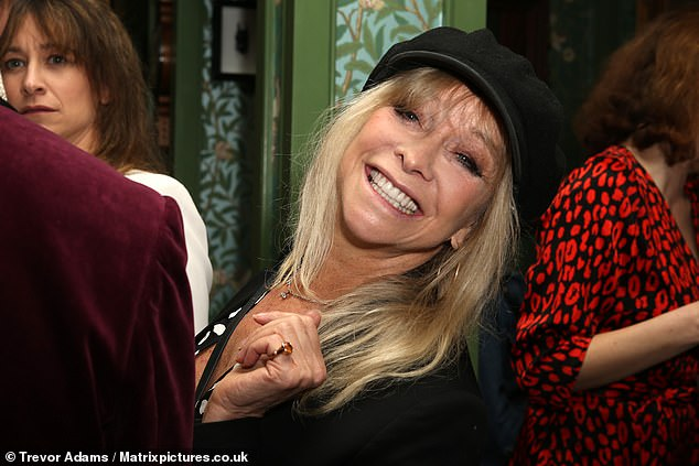 In attendance: Jo Wood also made an appearance at the Fitzrovia launch party