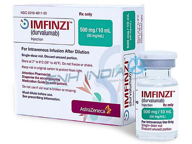 The health service's drug regulator today announced Imfinzi would be available for free to patients with stage three non-small cell lung cancer