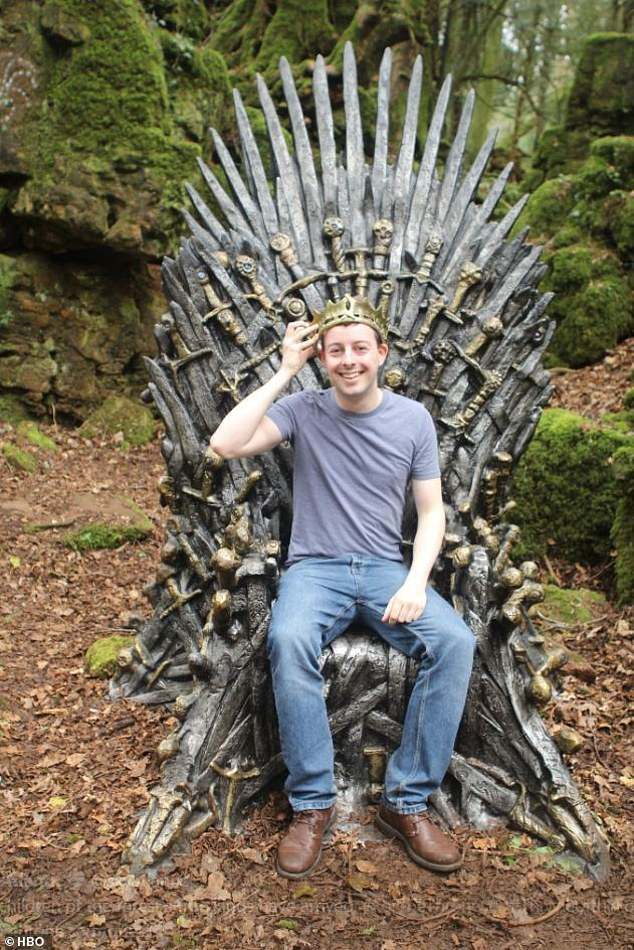 Found it! Among those to discover a throne wereAlex Bowring and Tom Maullin-Sapey from Oxford, England, who followed the clues to the ancient Puzzlewood woodland in the Forest of Dean in Gloucestershire, said to have inspired J. R. R. Tolkein's Lord of the Rings