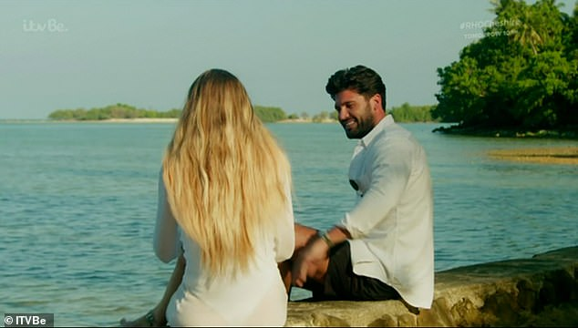 At home with each other:Things heated up between Chloe and Dan when they were away filming The Only Way Is Essex in Thailand which has now just aired on TV