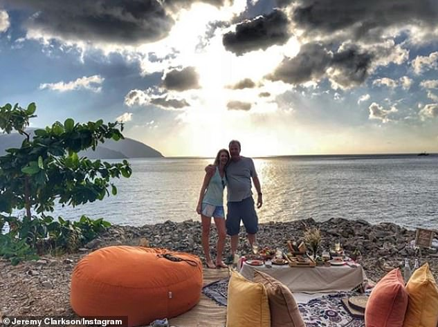 Love:Jeremy and Lisa have been dating since March 2017, two years after he split from wife Frances Cain