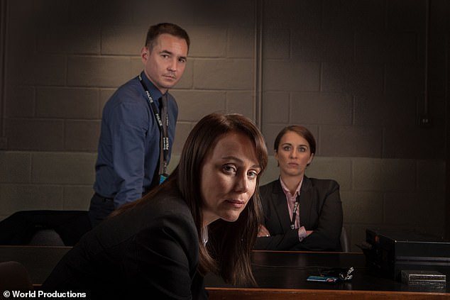 Detective Sergeant Steve Arnott (Martin Compston), Detective Inspector Lindsay Denton (Keeley Hawes) and Detective Constable Kate Fleming (Vicky McClure)