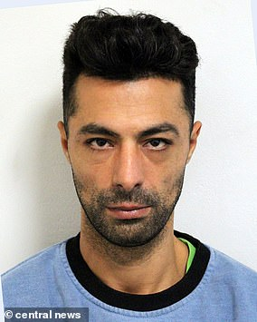 Pictured: Fraudster Sharife Elouahbi
