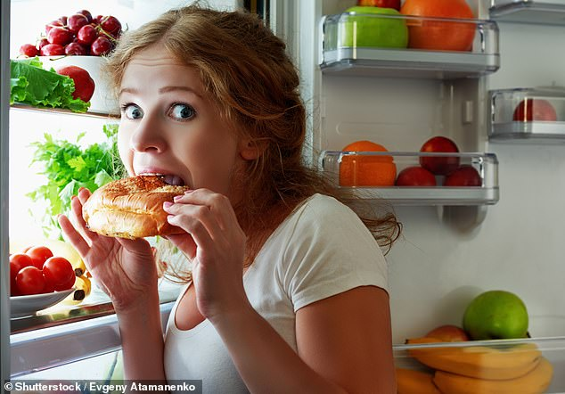 Too much use of your phone could lead you to be unable to resist temptations elsewhere in your life, leading to an indulge in bad habits such as unhealthy eating
