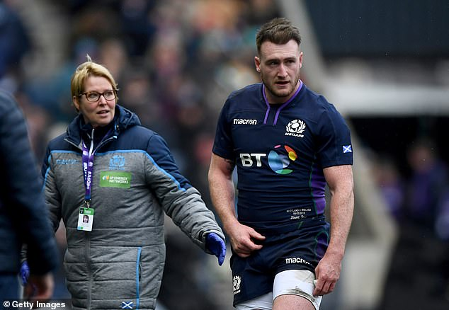 Sarries take on Glasgow Warriors, who welcome back Stuart Hogg from a shoulder injury