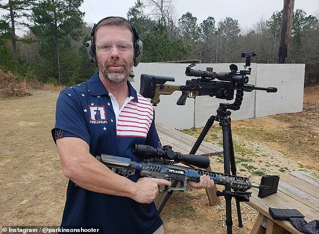 David Smith has long been a gun enthusiast. But it wasn't until after he was diagnosed with Parkinson's at just 38 that he realized that shooting could be a 'therapy' for his tremors