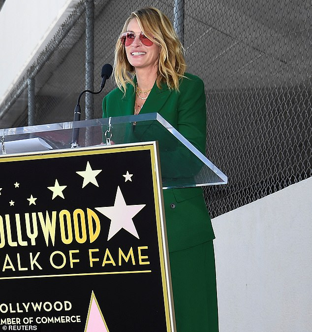 She does not seem to be represented: Roberts does not seem to have her star on the Walk Of Fame yet even though she has been in over two dozen movies