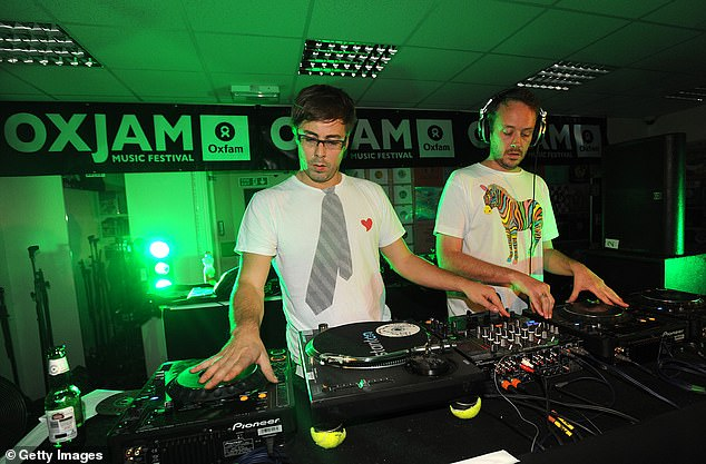 Latest gig: Basement Jaxx have teamed up with Sydney's the Metropolitan Orchestra for their Australian tour, commencing next month. Pictured in September 2009