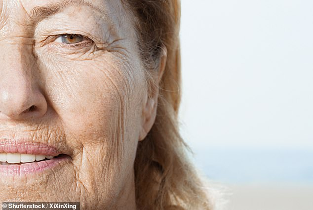 Scientists from the University of Colorado said their discovery could reveal a way to reduce wrinkles, sun damage, and potentially even skin cancer (stock image)