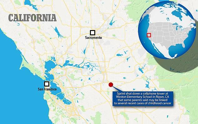 Ripon, east of Sacramento, has a population of around 14,000