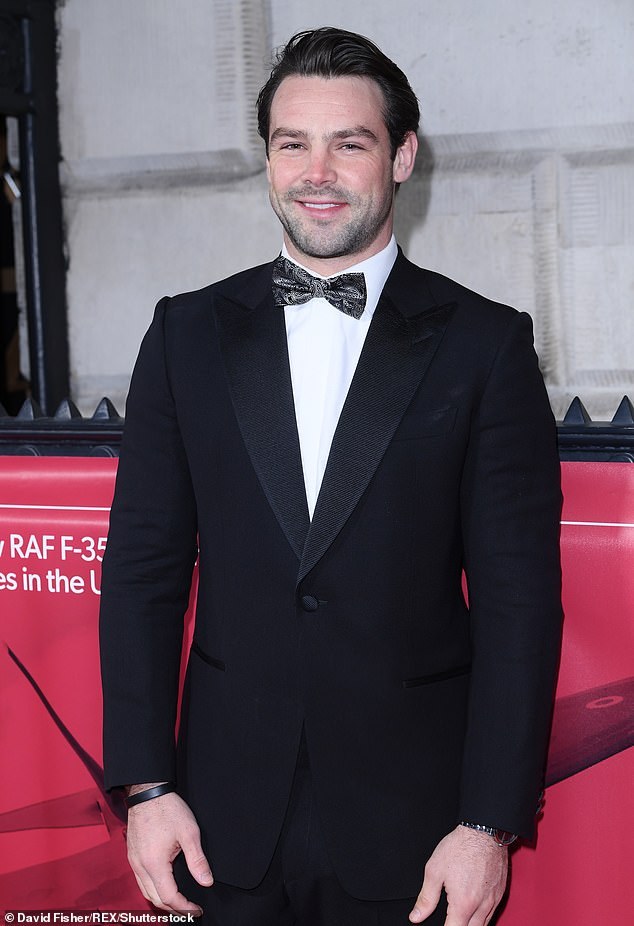 Moving on: Ben Foden has now reportedly moved on with another Irish beauty, Miriam Murphy, even 'flying her over to New York', where he is currently based with Rugby United
