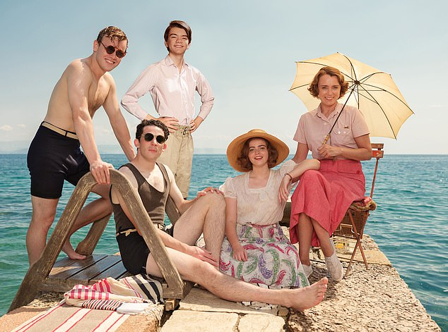 Keeley Hawes and clan return to the sun-soaked island of Corfu for the fourth and final series of this charming drama based on Gerald Durrell's memoirs. Tonight, ITV, 8pm