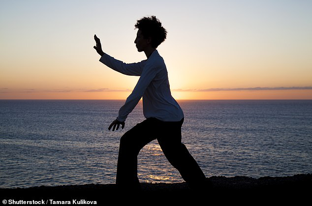 Try taking up t'ai chi to improve your balance, a healthy form of exercise which combines breathing and relaxation with flowing movements