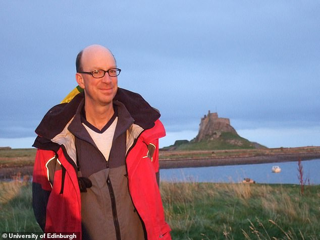 One explanation could be that exposure to sunlight may play an important role in lowering blood pressure, according to Richard Weller (pictured), a consultant dermatologist at the University of Edinburgh