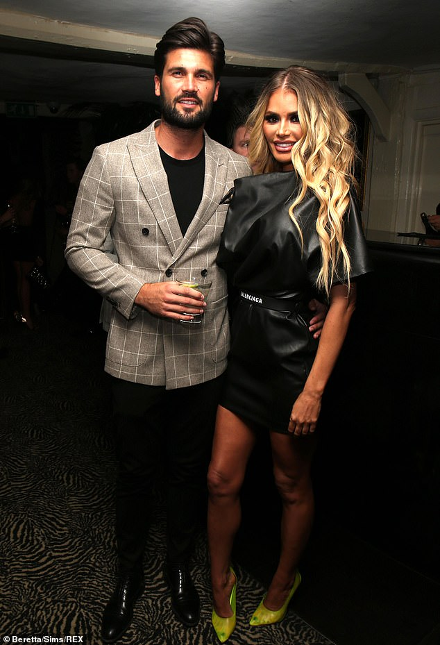 Tough time:Chloe Sims and Dan Edgar's unlikely romance has divided the cast of TOWIE