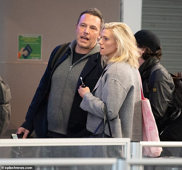 Back on: Ben recently rekindled his romance with Saturday Night Live producer Lindsay Shookus