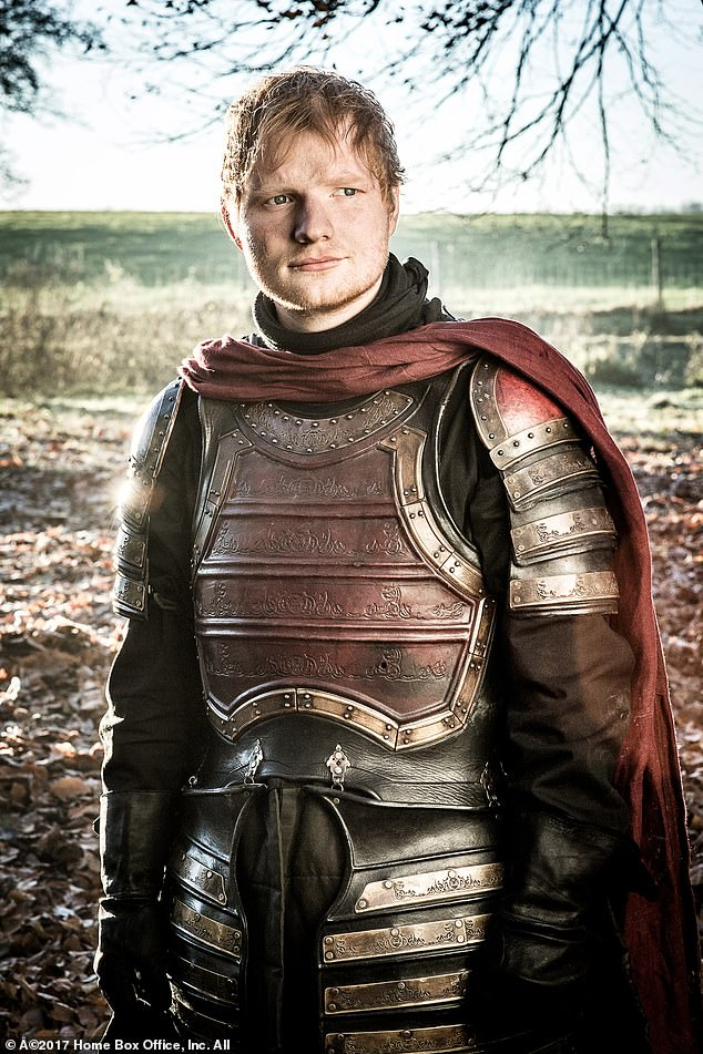 The most high-profile (and controversial) cameo was from Ed Sheeran; the singer-songwriter appeared in season seven as a singing Lannister soldier to surprise Maisie Williams