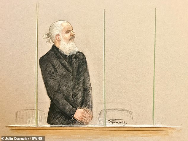 The court heard how Assange resisted arrest and tried to barge past officers in an attempt to return to his private room within the embassy when they introduced themselves at about 10am, telling them: 'This is unlawful'