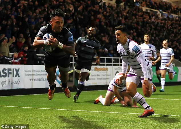 The Falcons were denied at Kingston Park despite a superb showing from Tane Takulua