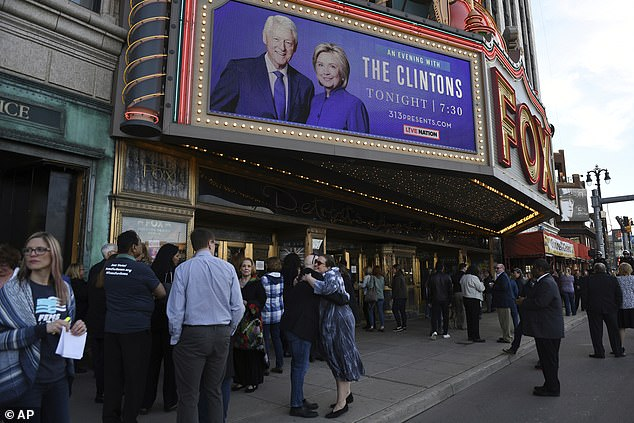 'An Evening with President Bill Clinton and former Secretary of State Hillary Rodham Clinton'