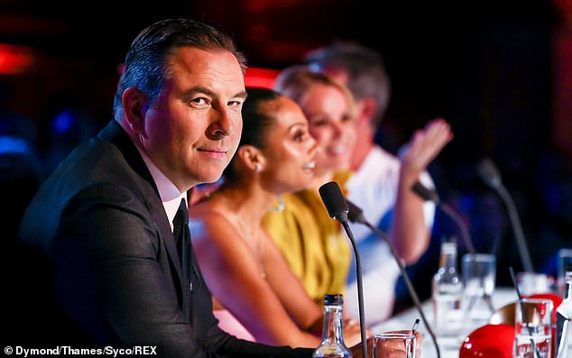 Back:Last weekends Saturday episode saw judges Amanda, Alesha, Simon and David Walliams return to the small screen to look out for best in British talent