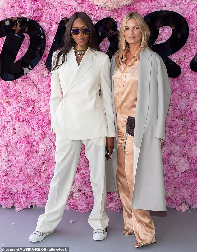 Alleged:The supermodel, 46, is said to have annoyed Naomi, 48, as well as designer Tom Ford, 57, and fashion photographer Mario Testino, 64, for not publicly shunning the hotel