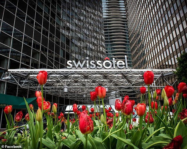 The Swissotel Chicagom was perfect for curingSeasonal Affective Disorder, which affects betweenfour and six per cent