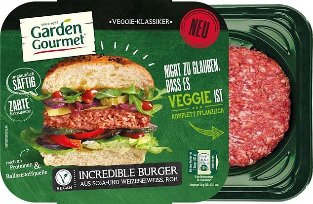 Nestle launched their soya and wheat protein Garden Gourmet Incredible Burger (pictured) this month