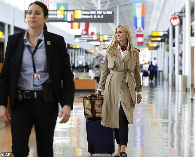 Off to Africa: Ivanka Trump will conduct a four-day tour to Ivory Coast and Ethiopia to push her 'women's empowerment' agenda, which is being funded by USAID