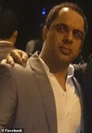 Two other bouncers were shot. Pictured: Mr Osmani