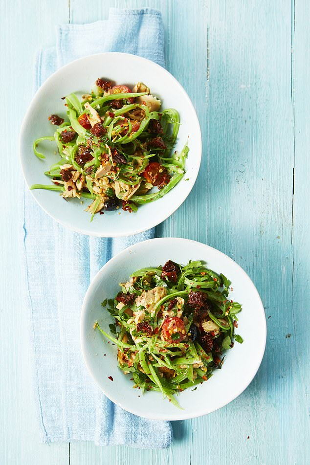 This recipe brings punchy flavours of southern Italy to the plate. If you have any leftovers, they can be served cold as a salad the next day