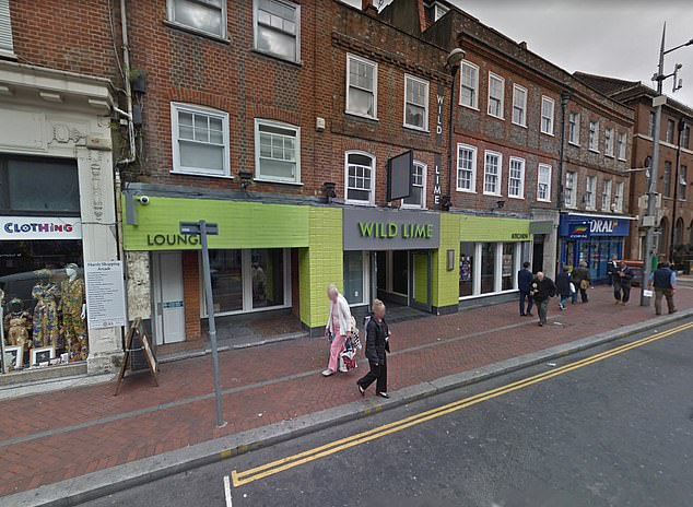 An army veteran, 48, has been killed while he was play fighting with his son outside Reading bar Wild Lime