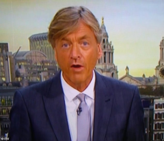 Oops! The television sensation remarked his fake tan disaster on Good Morning Britain was his most embarrassing moment in his long-standing career