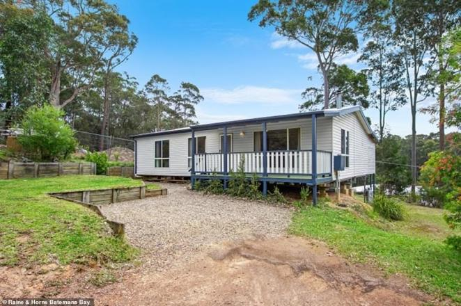 Three beds, two bathrooms and sleek modern design: Inside Love Island Grant Crapp and girlfriend Lucy Carwright's $380,000 home in Malua Bay, New South Wales
