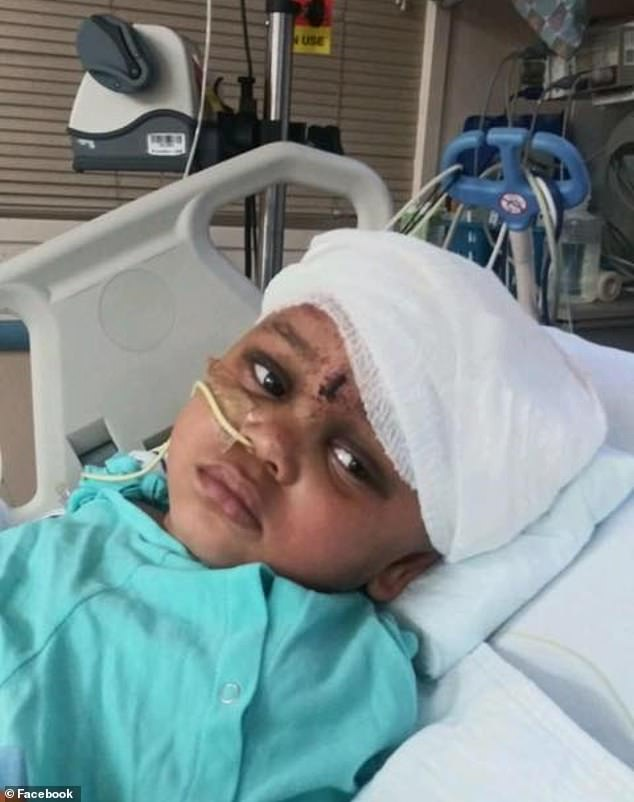 Na'vaun has not been able to speak yet, but his relatives remain hopeful about his condition