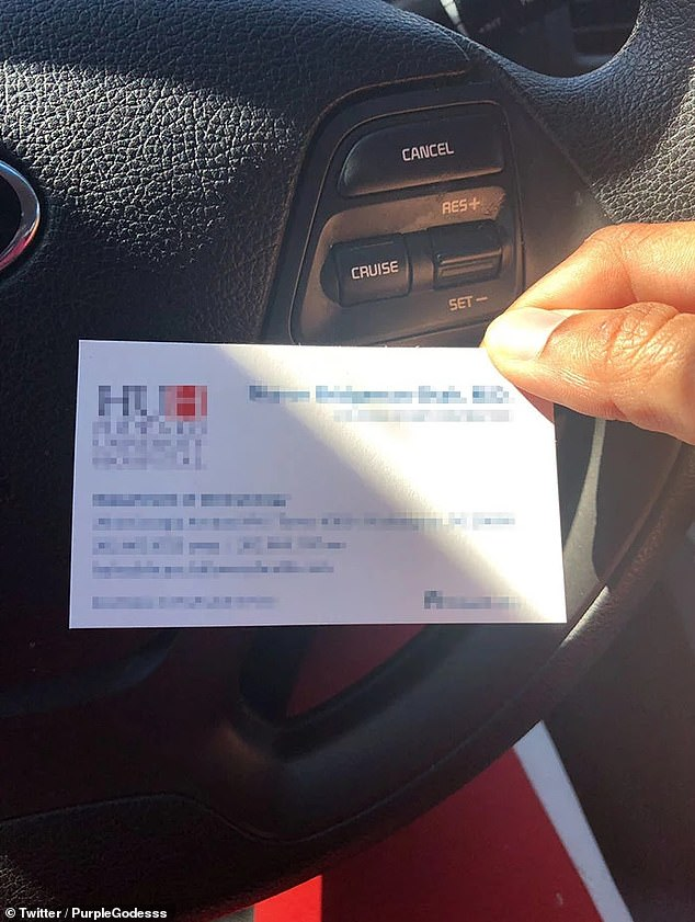 After the original tweet went viral, PurpleGodesss shared a picture of the dermatologist card, therefor unveiling his practice's location