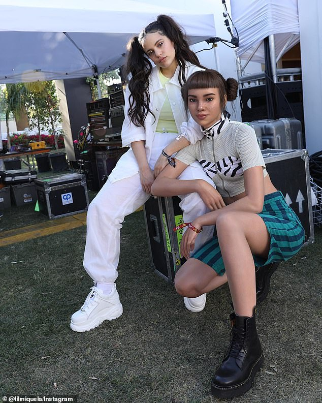 Computer-generated model and social media presence, Lil Miquela (right), hit Coachella this week, adding music journalism to her list of accolades and continuing the festival's tradition of blurring the line between technology and the tangible