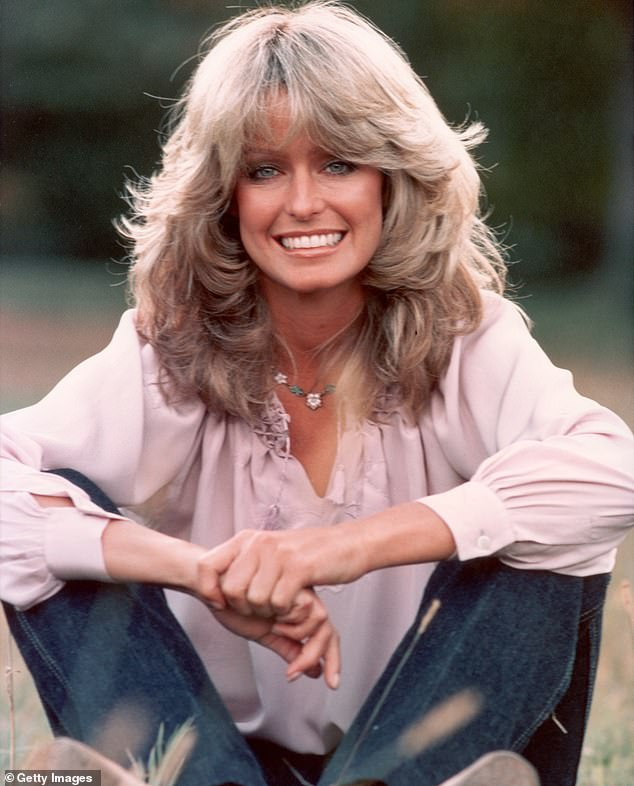 Superstar:Fawcett was a four-time Emmy Award nominee and six-time Golden Globe Award nomine. Pictured in 1975
