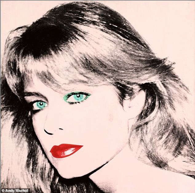 Aiming high: A famed portrait of the late Farrah Fawcett is being sold for as much as $18 million by the starlet's ex, Ryan O' Neal, 77