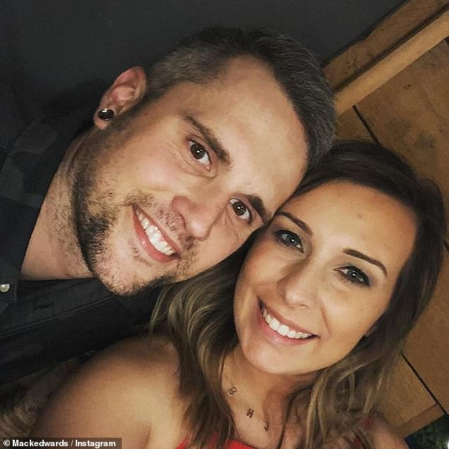 The 31-year-old Teen Mom star was arrested in January for 'theft of services under $1,000' when he walked out on a $36 bar tab, and was also booked for a heroin possession charge stemming from an outstanding warrant; seen with wife Mackenzie
