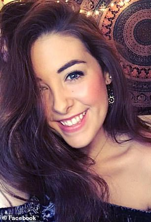 Andrea Norton, 20, died on Saturday when she accidentally fell from a rock formation within the Ozark–St. Francis National Forest when she tried to re-position herself for the picture