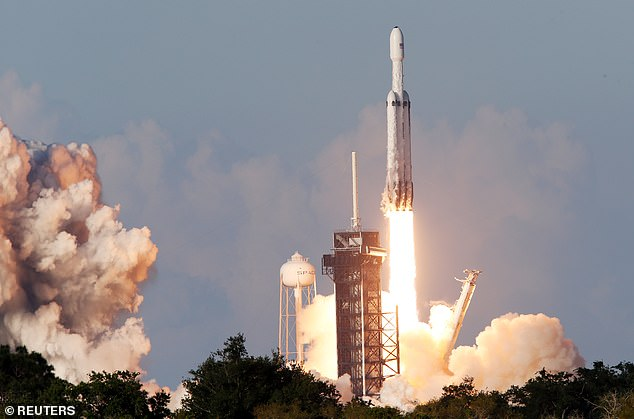 SpaceX's Falcon Heavy rocket successfully took its second flight ever on Thursday afternoon, when it lifted off from the Kennedy Space Center in Florida