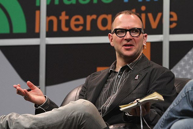 Cory Doctorow, pictured, warned: 'Article 13 guarantees America's giant companies a permanent share of all small EU companies' revenues and access to an incredibly valuable data-stream generated by all European discourse, conversation, and expression'