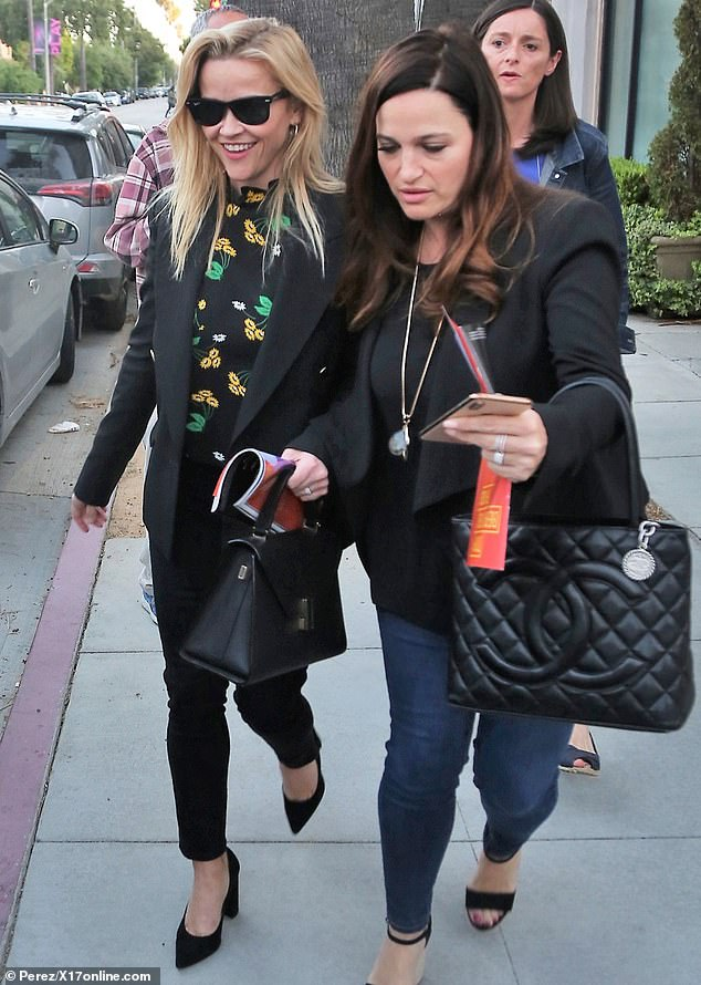 Took in a play: On Sunday, The Big Little Lies star was spotted arriving at the Pasadena Playhouse for a Public Theater production of Tiny Beautiful Things
