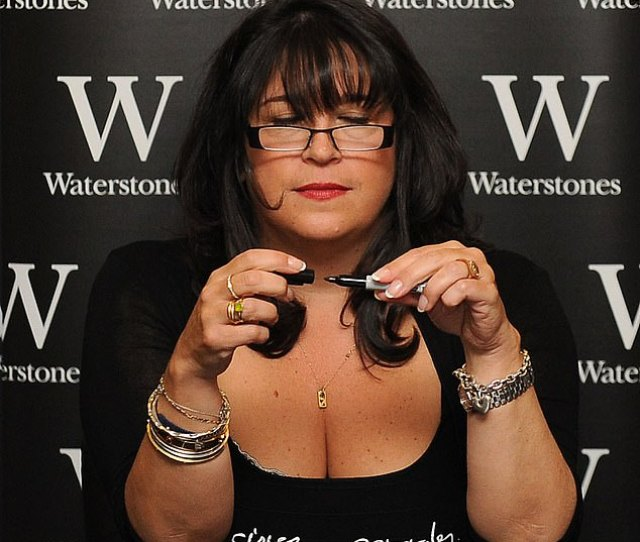 E L James At Her Book Signing For Fifty Shades Of Grey In 2012 The Author