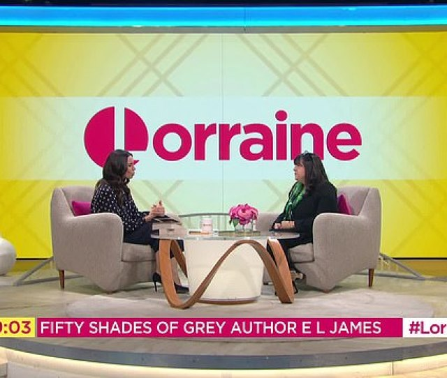 Invited On The Set Of Lorraine Hosted By Christine Lampard James Assured That Her