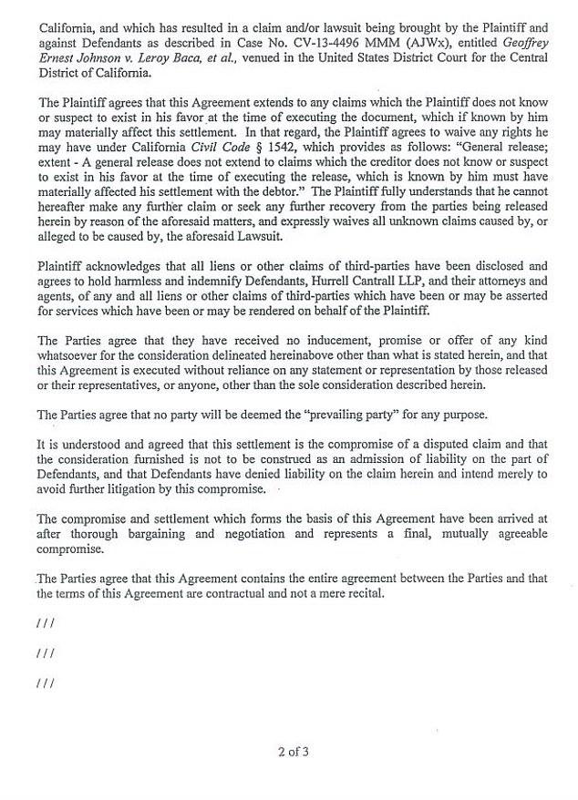 """When Mr Avenatti received $ 4 million in settlement funds in January 2015,"" he said.  T Instead, Mr Avenatti moved"