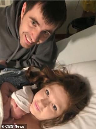 It wasn't until many months after Nathan's birth (pictured) that Adam and Laura were able to get the exorbitant charges dropped from their hospital bill