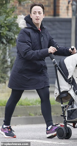 Amazing achievement: EastEnders star Natalie Cassidy said the London Marathon training taught her how to eat and be comfortable with her body after losing THREE stone